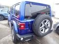 Jeep Wrangler Unlimited Sahara 4x4 Ocean Blue Metallic photo #3