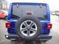 Jeep Wrangler Unlimited Sahara 4x4 Ocean Blue Metallic photo #4