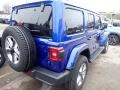 Jeep Wrangler Unlimited Sahara 4x4 Ocean Blue Metallic photo #5