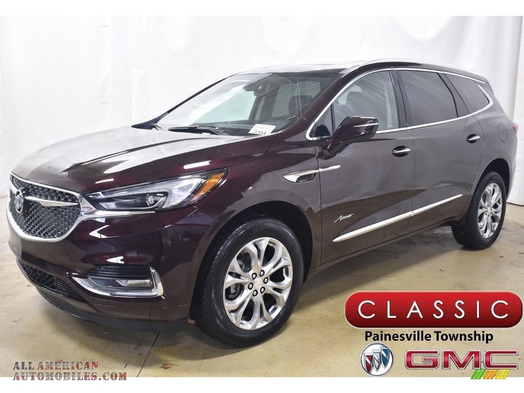 2020 Enclave Avenir AWD - Rich Garnet Metallic / Ebony photo #1