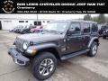 Jeep Wrangler Unlimited Sahara 4x4 Granite Crystal Metallic photo #1