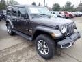Jeep Wrangler Unlimited Sahara 4x4 Granite Crystal Metallic photo #7