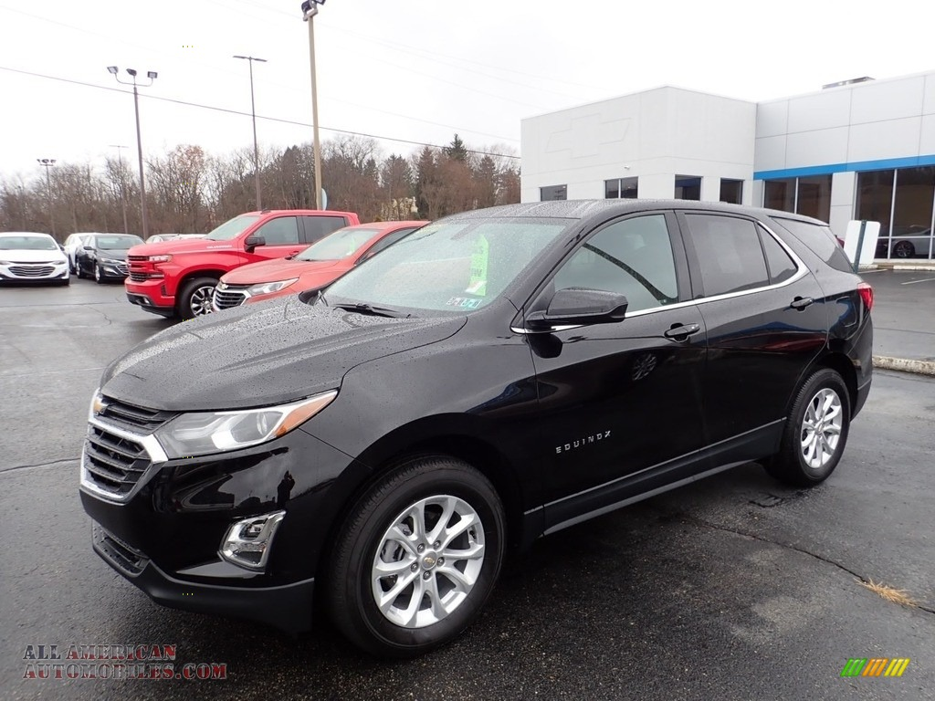 Mosaic Black Metallic / Jet Black/Cinnamon Chevrolet Equinox LT AWD