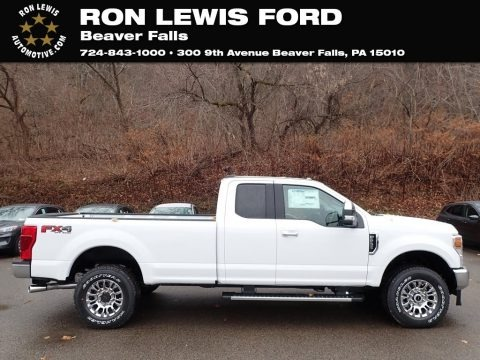 Oxford White 2020 Ford F250 Super Duty XLT SuperCab 4x4