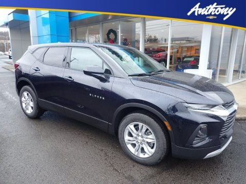 Midnight Blue Metallic 2020 Chevrolet Blazer LT AWD