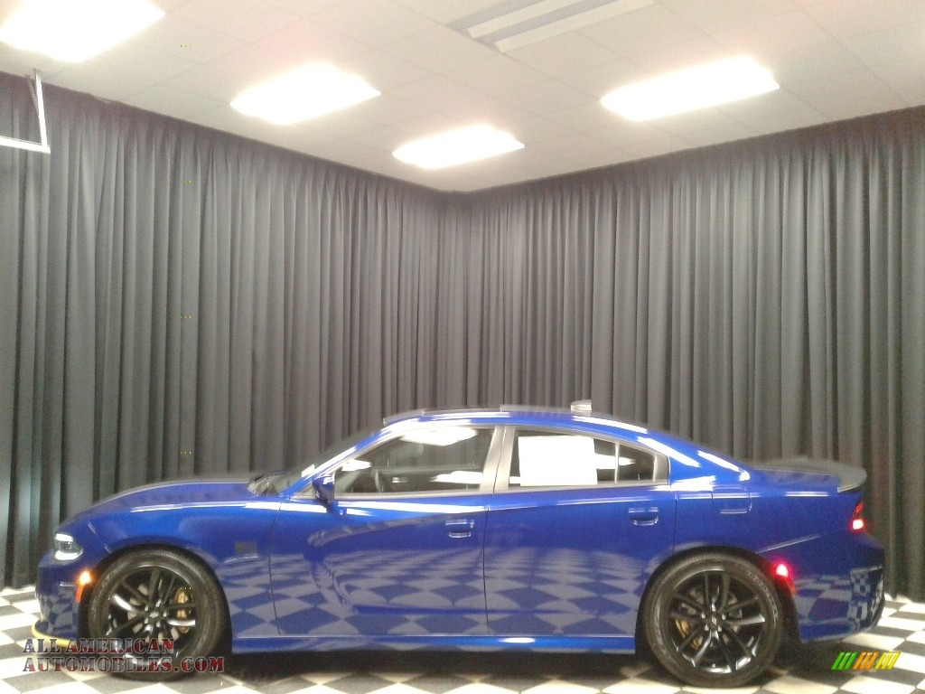 2019 Charger Scat Pack Stars & Stripes Edition - Indigo Blue / Black photo #1