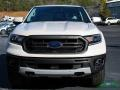 Ford Ranger Lariat SuperCrew 4x4 White Platinum Tri-Coat photo #8