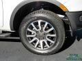 Ford Ranger Lariat SuperCrew 4x4 White Platinum Tri-Coat photo #9