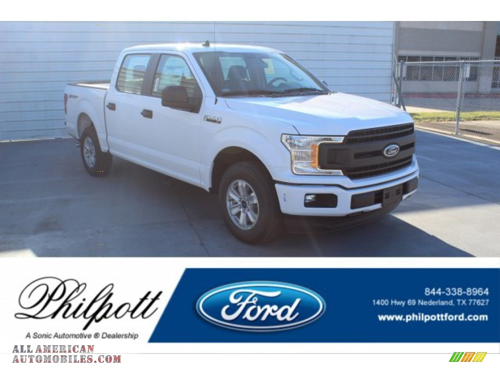 2020 F150 XLT SuperCrew - Oxford White / Medium Earth Gray photo #1