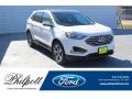 Ford Edge SEL Star White Metallic Tri-Coat photo #1