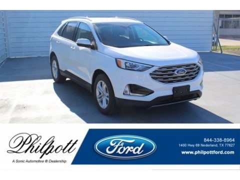 Oxford White 2019 Ford Edge SEL