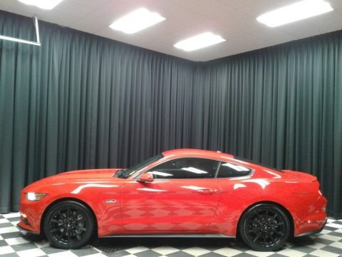 Race Red 2016 Ford Mustang GT Coupe