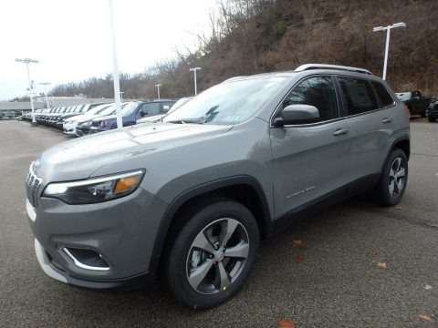 Sting-Gray 2020 Jeep Cherokee Limited 4x4