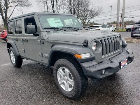 Sting-Gray 2020 Jeep Wrangler Unlimited Sport 4x4