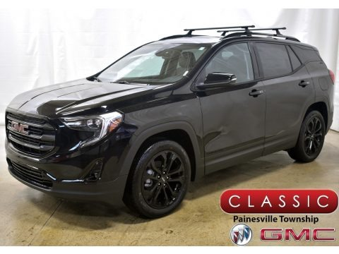 Ebony Twilight Metallic 2020 GMC Terrain SLT AWD