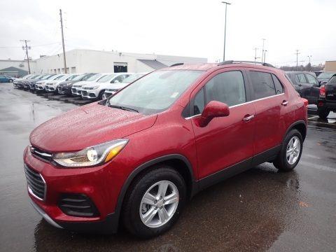 Cajun Red Tintcoat 2020 Chevrolet Trax LT