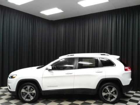 Bright White 2020 Jeep Cherokee Limited