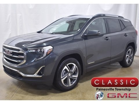 Graphite Gray Metallic 2020 GMC Terrain SLT AWD