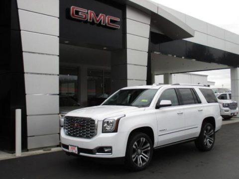 Summit White 2020 GMC Yukon Denali 4WD