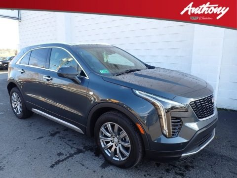 Shadow Metallic 2020 Cadillac XT4 Premium Luxury AWD
