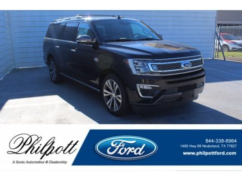 Agate Black 2020 Ford Expedition King Ranch Max