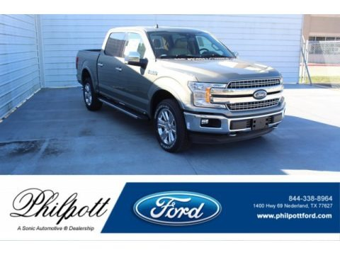 Silver Spruce 2020 Ford F150 Lariat SuperCrew 4x4