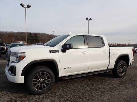 Summit White 2020 GMC Sierra 1500 AT4 Crew Cab 4WD