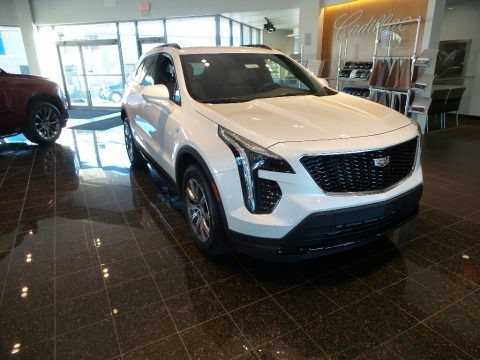 Crystal White Tricoat 2020 Cadillac XT4 Sport AWD