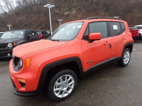 Omaha Orange 2020 Jeep Renegade Latitude 4x4