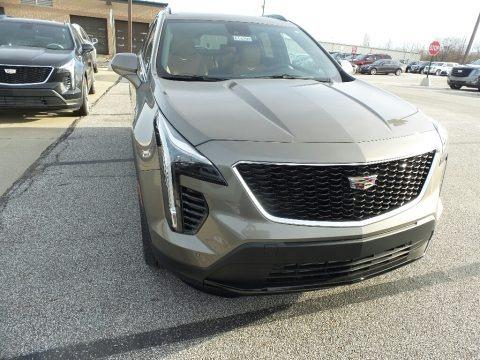 Silver Dusk Metallic 2020 Cadillac XT4 Sport AWD