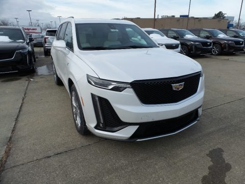 Crystal White Tricoat 2020 Cadillac XT6 Sport AWD