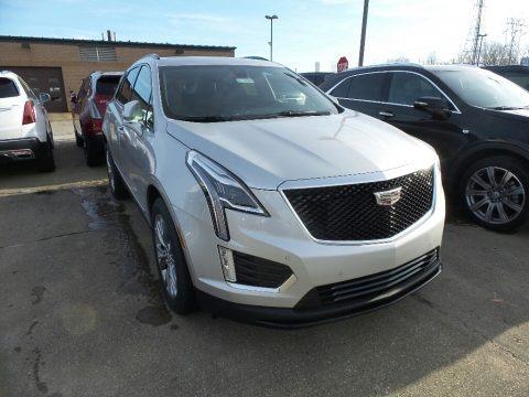 Radiant Silver Metallic 2020 Cadillac XT5 Sport AWD