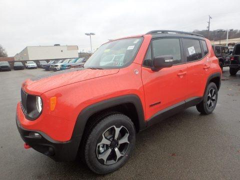 Omaha Orange 2020 Jeep Renegade Trailhawk 4x4