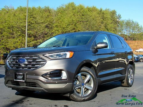 Magnetic Metallic 2020 Ford Edge Titanium AWD
