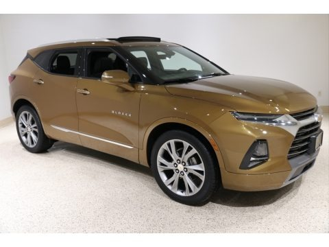 Sunlit Bronze Metallic 2019 Chevrolet Blazer Premier AWD
