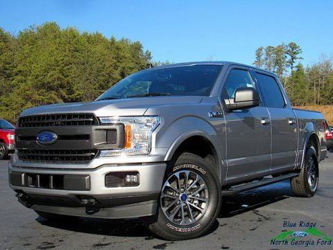 Iconic Silver 2020 Ford F150 XLT SuperCrew 4x4