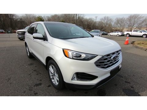 Oxford White 2020 Ford Edge SEL AWD