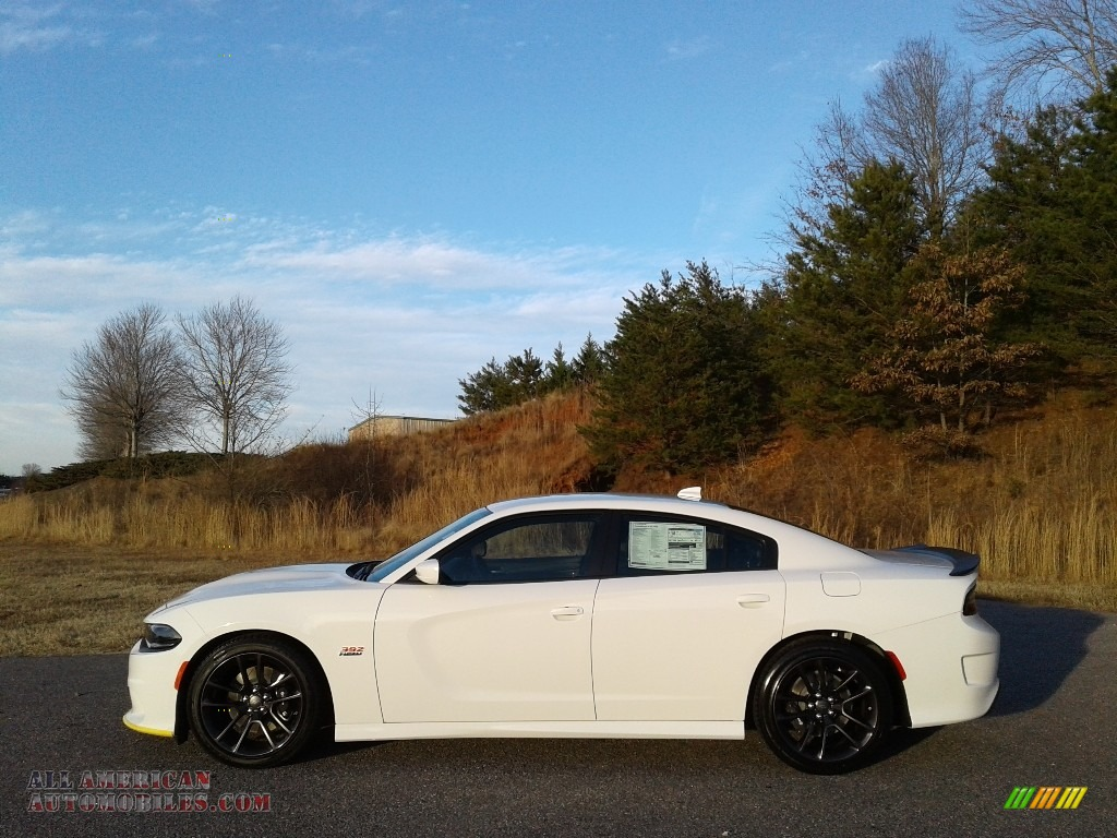 2020 Charger R/T Scat Pack - White Knuckle / Black photo #1