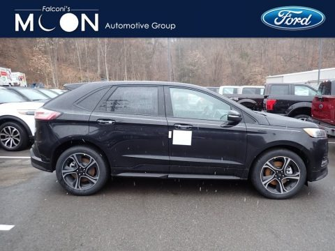 Agate Black 2020 Ford Edge ST AWD