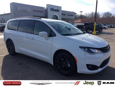 Bright White 2020 Chrysler Pacifica Touring L Plus