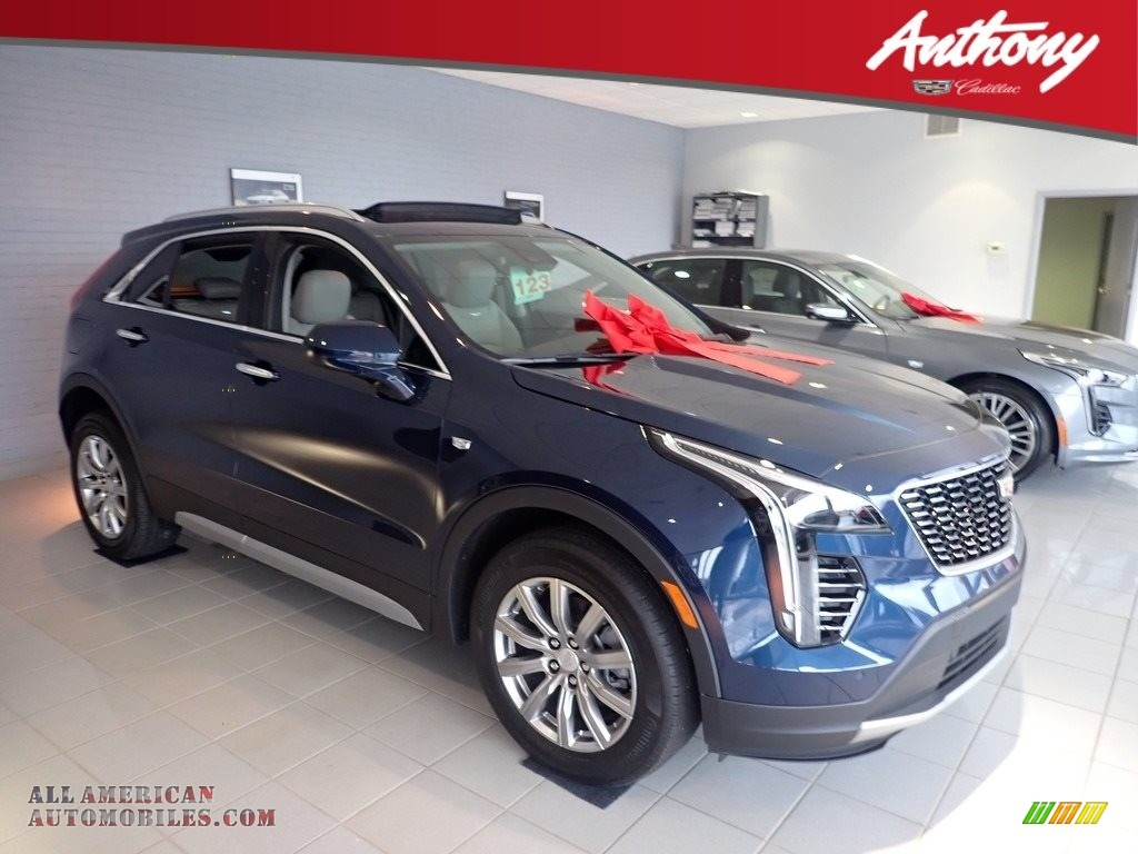 2020 XT4 Premium Luxury AWD - Twilight Blue Metallic / Light Platinum/Jet Black photo #1