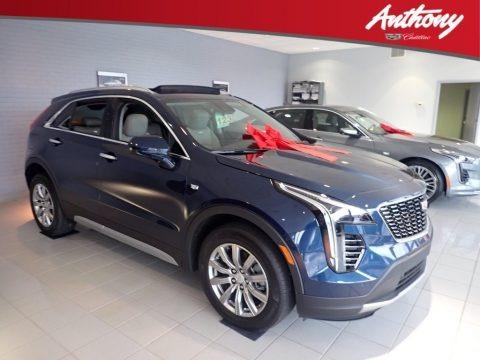 Twilight Blue Metallic 2020 Cadillac XT4 Premium Luxury AWD
