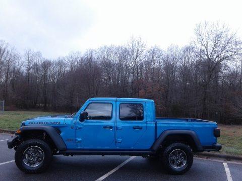 Hydro Blue Pearl 2020 Jeep Gladiator Rubicon 4x4
