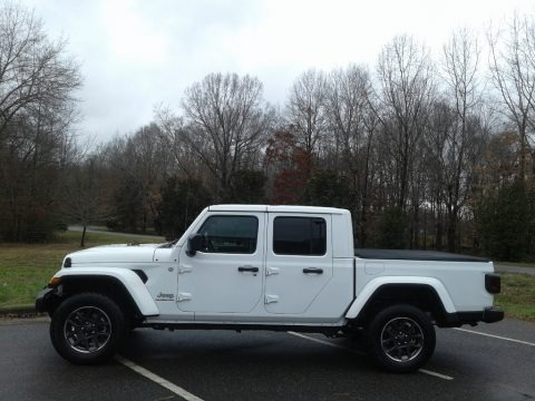 Bright White 2020 Jeep Gladiator Overland 4x4