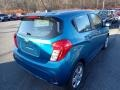 Chevrolet Spark LS Caribbean Blue Metallic photo #5