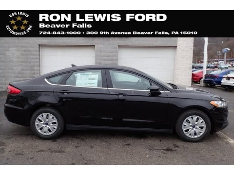 Agate Black 2020 Ford Fusion S