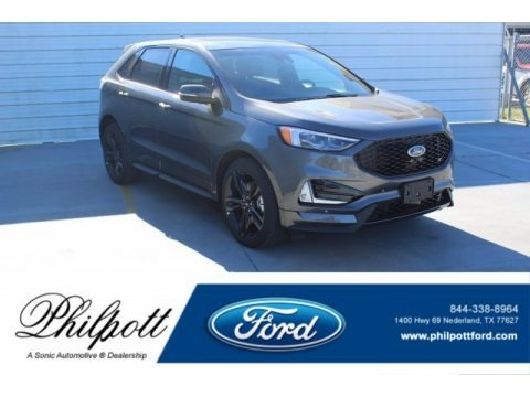 Magnetic Metallic 2020 Ford Edge ST AWD