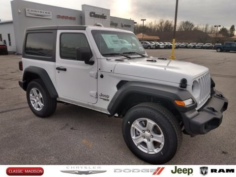 Bright White 2020 Jeep Wrangler Sport 4x4