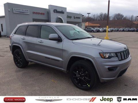 Billet Silver Metallic 2020 Jeep Grand Cherokee Altitude 4x4