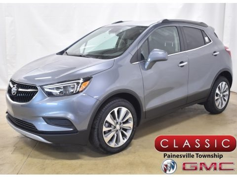 Satin Steel Metallic 2020 Buick Encore Preferred AWD